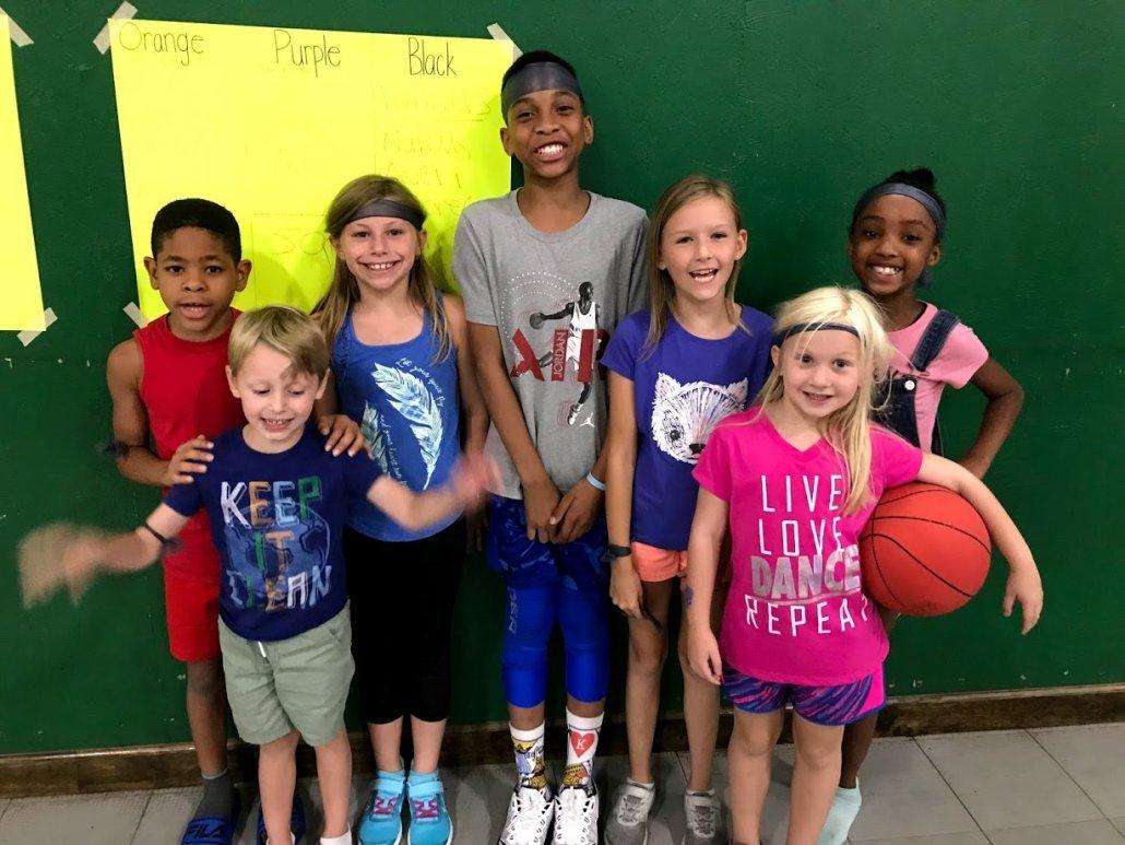 team sports at summer camp