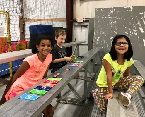 day camp playing cards