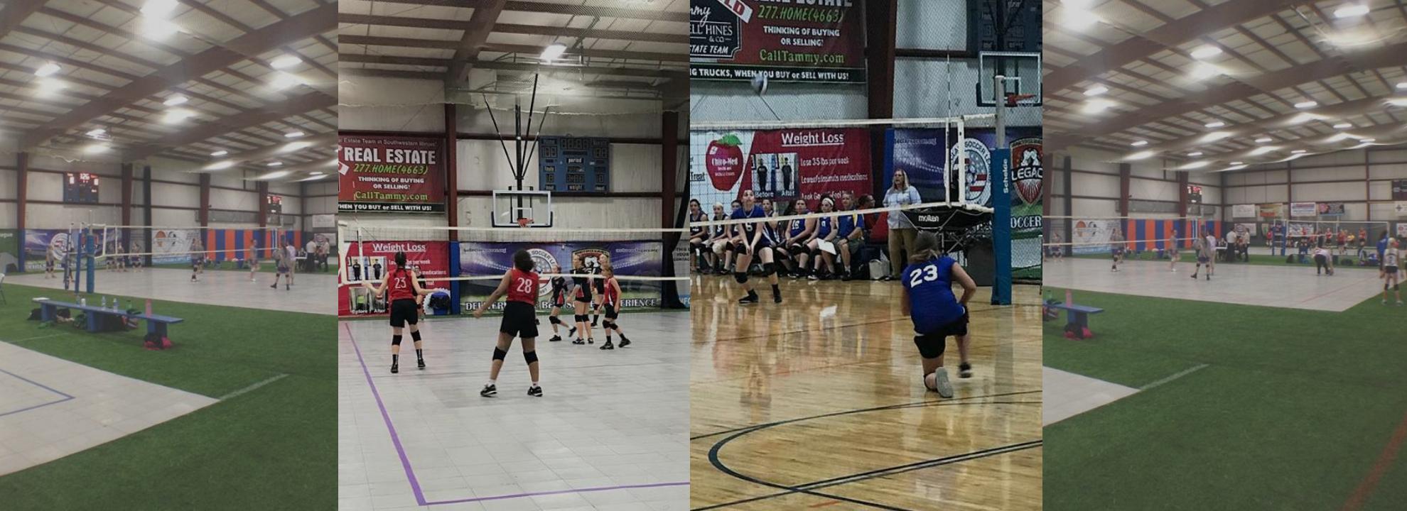 volleyball games at sportsplex
